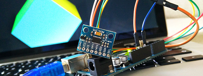 The gyroscope and the Arduino